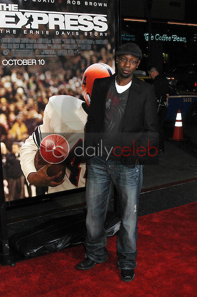 Nelsan Ellis<br />at the Los Angeles premiere of 'The Express'. Grauman's Chinese Theatre, Hollywood, CA. 09-25-08<br />Dave Edwards/DailyCeleb.com 818-249-4998