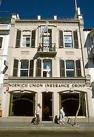 - Gibraltar, headquarters of an  insurance society<br /> <br /> - Gibilterra, sede di una societ&agrave; assicurativa