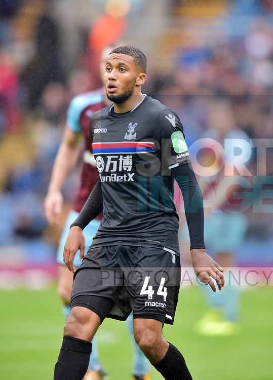 Crystal Palace's Jairo Riedewald during the premier league match at the Turf Moor Stadium, Burnley. Picture date 10th September 2017. Picture credit should read: Paul Burrows/Sportimage