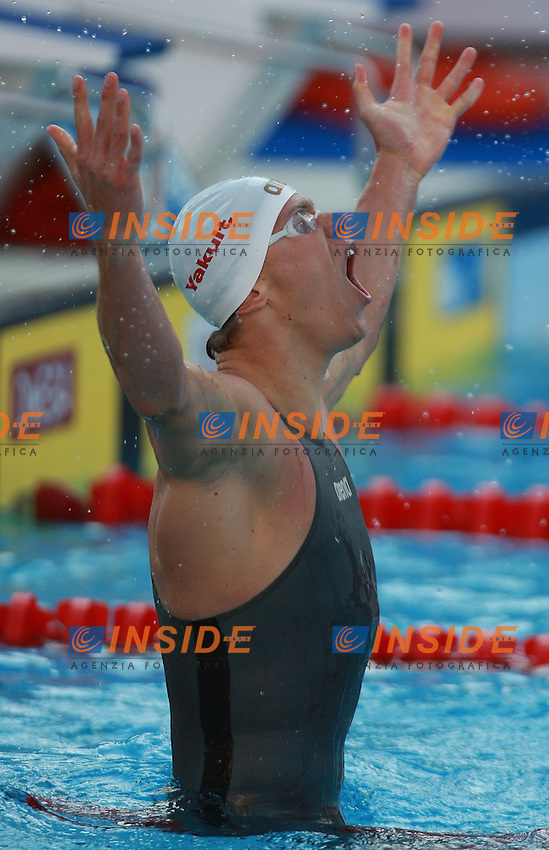Roma 30th July 2009 - 13th Fina World Championships .From 17th to 2nd August 2009.100m Freestyle.Cielo Filho Cesar BRA Gold Medal and NEw W.R..photo: Roma2009.com/InsideFoto/SeaSee.com