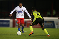 Chike Kandi of Dagenham and Redbridge during Dagenham & Redbridge vs Aldershot Town, Vanarama National League Football at the Chigwell Construction Stadium on 16th November 2019