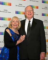 United States Senator Patrick Leahy (Democrat of Vermont) and his wife, Marcelle, arrive for the formal Artist's Dinner honoring the recipients of the 40th Annual Kennedy Center Honors hosted by United States Secretary of State Rex Tillerson at the US Department of State in Washington, D.C. on Saturday, December 2, 2017. The 2017 honorees are: American dancer and choreographer Carmen de Lavallade; Cuban American singer-songwriter and actress Gloria Estefan; American hip hop artist and entertainment icon LL COOL J; American television writer and producer Norman Lear; and American musician and record producer Lionel Richie. Photo Credit: Ron Sachs/CNP/AdMedia