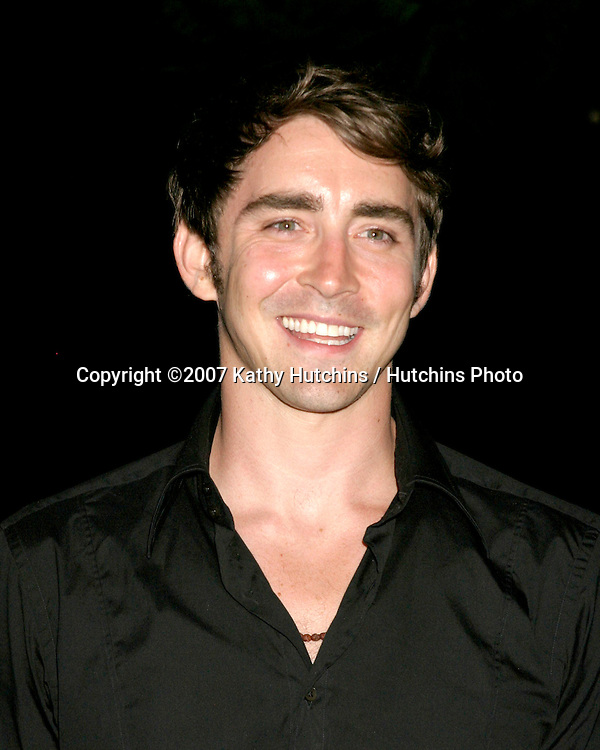 """Lee Pace.""""Pushing Daisies"""" TV Series Premiere Screening.Forever Hollywood Cemetary.Los Angeles CA.Aug 16, 2007.©2007 Kathy Hutchins / Hutchins Photo...."""