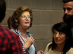 24/05/2014<br /> Cllr Maria Byrne, Fine Gael pictured at the Limerick Count Centre.<br /> Pic: Don Moloney/Press 22