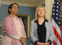 Hillary Clinton and Bangladeshi Foreign Minister
