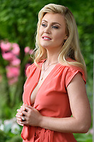 Camilla Kerslake at the Chelsea Flower Show 2018, London, UK. <br /> 21 May  2018<br /> Picture: Steve Vas/Featureflash/SilverHub 0208 004 5359 sales@silverhubmedia.com