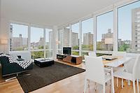 Living Room at 805 Columbus Avenue