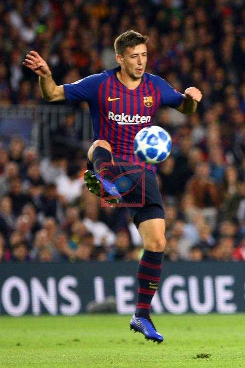 UEFA Champions League 2018/2019 - Matchday 3.<br /> FC Barcelona vs FC Internazionale Milano: 2-0.<br /> Clement Lenglet.
