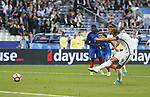 England's Harry Kane scoring his sides second goal during the Friendly match at Stade De France Stadium, Paris Picture date 13th June 2017. Picture credit should read: David Klein/Sportimage