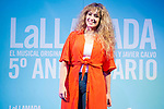 Erika Bleda during presentation of new cast of 'La Llamada' theater show at Teatro Lara in Madrid, Spain. May 24, 2018. (ALTERPHOTOS/Borja B.Hojas)
