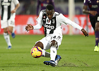 Calcio, Serie A: Fiorentina - Juventus, stadio Artemio Franchi Firenze 1 dicembre 2018.<br /> Juventus' Blaise Matuidi in action during the Italian Serie A football match between Fiorentina and Juventus at Florence's Artemio Franchi stadium, December 1, 2018.<br /> UPDATE IMAGES PRESS/Isabella Bonotto
