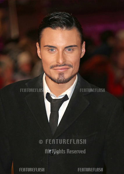 Rylan Clark arriving at the World Premiere of 'Les Miserables' held at the Odeon & Empire Leicester Square, London. 05/12/2012 Picture by: Henry Harris / Featureflash