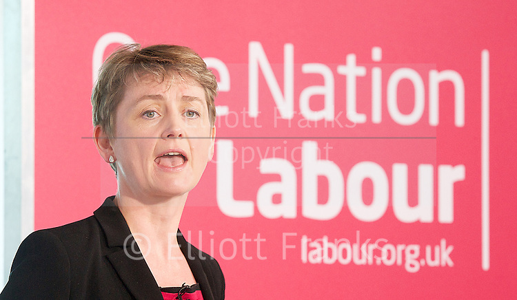 Yvette Cooper speech on the role for Government in seeking to ensure people&rsquo;s liberty and security.<br />