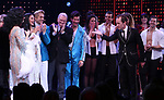 Jeffrey Sellers with cast during the Broadway Opening Night Curtain Call of 'The Cher Show'  at Neil Simon Theatre on December 3, 2018 in New York City.