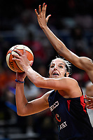 Washington, DC - July 30, 2019: Washington Mystics forward Elena Delle Donne (11) makes a move to the basket during game between the Phoenix Mercury and the Washington Mystics at the Entertainment & Sports Arena in Washington, DC. The Mystics defeated the Mercury 99-93. (Photo by Phil Peters/Media Images International)
