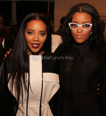 NEW YORK, NY - SEPTEMBER 10, 2014<br /> attends the Angela Simmons Back To Basics Runway Show at Style 360 September 9, 2014 in New York City.<br /> Walik Goshorn/MediaPunch