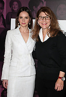LOS ANGELES, CA - NOVEMBER 2: Felicity Jones, Stacy L. Smith, at TheWrap&rsquo;s Power Women&rsquo;s Summit Day2 at the InterContinental Hotel in Los Angeles, California on November 2, 2018. <br /> CAP/MPI/FS<br /> &copy;FS/MPI/Capital Pictures