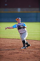 Matt Malloy (12) of Westminster High School in Westminster, California during the Baseball Factory All-America Pre-Season Tournament, powered by Under Armour, on January 14, 2018 at Sloan Park Complex in Mesa, Arizona.  (Zachary Lucy/Four Seam Images)