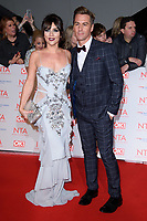 Candice Brown &amp; Matt Evers at the National Television Awards 2018 at the O2 Arena, Greenwich, London, UK. <br /> 23 January  2018<br /> Picture: Steve Vas/Featureflash/SilverHub 0208 004 5359 sales@silverhubmedia.com