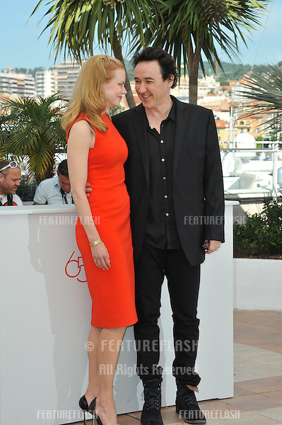 "Nicole Kidman & John Cusack at the photocall for their new movie ""The Paperboy"" in competition at the 65th Festival de Cannes..May 24, 2012  Cannes, France.Picture: Paul Smith / Featureflash"