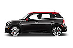 Car Driver side profile view of a 2015 MINI Countryman John Cooper Works 5 Door Hatchback Side View