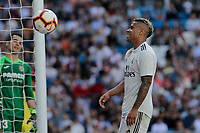 Real Madrid&rsquo;s Mariano Diaz during La Liga match between Real Madrid and Villarreal CF at Santiago Bernabeu Stadium in Madrid, Spain. May 05, 2019. (ALTERPHOTOS/A. Perez Meca)<br /> Liga Campionato Spagna 2018/2019<br /> Foto Alterphotos / Insidefoto <br /> ITALY ONLY