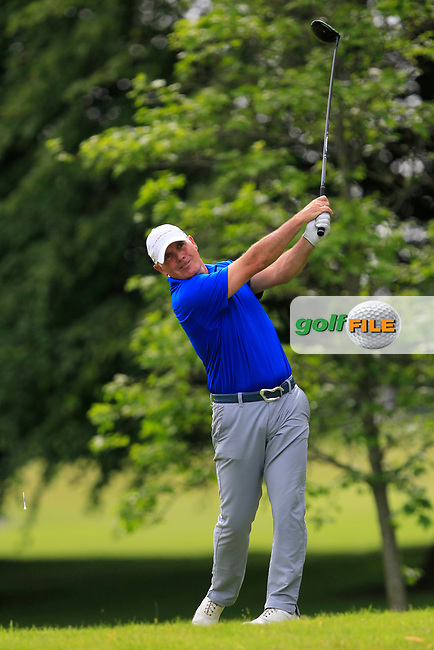 Philip Archer (Birchwood GC) on the 2nd tee during Round 2 of the Titleist &amp; Footjoy PGA Professional Championship at Luttrellstown Castle Golf &amp; Country Club on Wednesday 14th June 2017.<br /> Photo: Golffile / Thos Caffrey.<br /> <br /> All photo usage must carry mandatory copyright credit     (&copy; Golffile | Thos Caffrey)