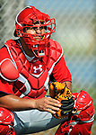 20 February 2011: Washington Nationals' catcher Wilson Ramos waits for a pitch during Spring Training at the Carl Barger Baseball Complex in Viera, Florida. Mandatory Credit: Ed Wolfstein Photo