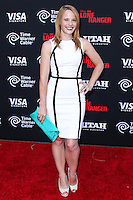 ANAHEIM, CA - JUNE 22: Katie Leclerc attends The World Premiere of Disney/Jerry Bruckheimer Films' 'The Lone Ranger' at Disney California Adventure Park on June 22, 2013 in Anaheim, California. (Photo by Celebrity Monitor)