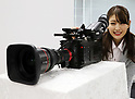 Sharp unveils world's first 8K camcorder
