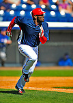 3 March 2009: Washington Nationals' right fielder Elijah Dukes in action against Italy during a Spring Training exhibition game at Space Coast Stadium in Viera, Florida. The Nationals defeated Italy 9-6. Mandatory Photo Credit: Ed Wolfstein Photo