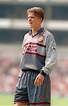 David Beckham of Manchester Utd - Barclays Premier League - Aston Villa v Manchester Utd - Villa Park Stadium - Birmingham - England - 19th August 1995 - Picture Sportimage