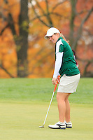 Ohio University Women's Golf compete in the MAC Preview. October 12, 2010