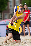 08.05.2015, Muenster, Schlossplatz<br /> smart beach tour, Supercup M&uuml;nster / Muenster, Qualifikation<br /> <br /> Annahme Julius Thole <br /> <br />   Foto &copy; nordphoto / Kurth