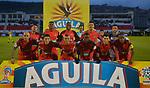 Patriotas igualó 1-1 ante Atlético Huila. Partidos de ida de los cuartos de final de la Liga Águila I-2018.