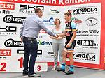 2018-07-09 / Wielrennen / Seizoen 2018 / Slotrit Sint Martinus prijs Kontich / Het podium van de slotrit: Stef Scharre werd derde<br /> <br /> ,Foto: Mpics