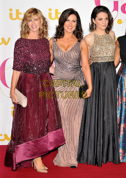 Kate Garraway, Susanna Reid &amp; Laura Tobin attend the ITV Gala 2015, The London Palladium, Argyll Street, London, England, UK, on Thursday 19 November 2015. <br /> CAP/CAN<br /> &copy;Can Nguyen/Capital Pictures