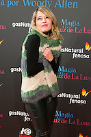 "Marta Larralde attend the Premiere of the movie ""Magic in the Moonlight"" at callao Cinema in Madrid, Spain. December 2, 2014. (ALTERPHOTOS/Carlos Dafonte) /NortePhoto.com"