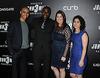 "Lance Reddick and family at the World Premiere of ""John Wick: Chapter 3 Parabellum"", held at One Hanson in Brooklyn, New York, USA, 09 May 2019<br /> CAP/ADM/LJ<br /> ©LJ/ADM/Capital Pictures"