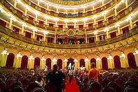 Manaus, Amazone, Brazil, October 2004. The opera house was built in the beginning of the 1900's and had only one performance.  Photo by Frits Meyst/Adventure4ever.com