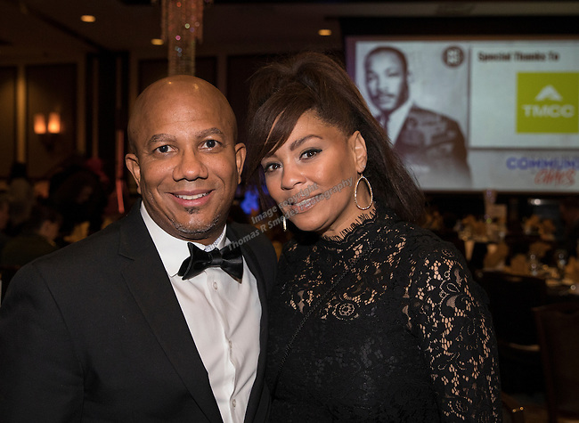 Carlos Crump and Samantha Walked during the 29th Annual Dr. Martin Luther King, Jr. Dinner Celebration at the Atlantis Casino Resort Spa in Reno, Monday night, Jan. 16, 2017.