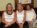 Ann O'Neill, Liz Levins and Rechenda Farrell at Seapoint Golf  Captains prizegiving in Tommy Hannratty's Bar & Lounge. Photo:Colin Bell/pressphotos.ie