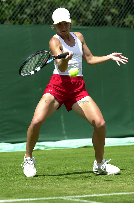 Photo: Richard Lane..DFS Classic Women's International Tennis at Edgebaston. 09/06/2003..Jill Craybas.