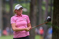 Stacy Lewis (USA) watches her tee shot on 11 during round 1 of the U.S. Women's Open Championship, Shoal Creek Country Club, at Birmingham, Alabama, USA. 5/31/2018.<br /> Picture: Golffile   Ken Murray<br /> <br /> All photo usage must carry mandatory copyright credit (© Golffile   Ken Murray)