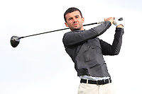 Darragh Crawford (Bundoran) on the 16th tee during Round 2 of The East of Ireland Amateur Open Championship in Co. Louth Golf Club, Baltray on Sunday 2nd June 2019.<br /> <br /> Picture:  Thos Caffrey / www.golffile.ie<br /> <br /> All photos usage must carry mandatory copyright credit (© Golffile   Thos Caffrey)