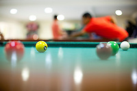 Caete_MG, Brasil...Pessoas jogando sinuca no Hotel Fazenda Taua em Caete, Minas Gerais...Some eople playing snooker at the Taua hotel in Caete, Minas Gerais...Foto: NIDIN SANCHES / NITRO