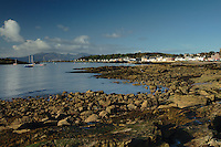 Arran from Millport, Great Cumbrae, Ayrshire<br /> <br /> Copyright www.scottishhorizons.co.uk/Keith Fergus 2011 All Rights Reserved