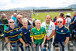 Kerry Fans at Fitzgerald Stadium John Leen, Gary Stack, Sean Kenny, Declan Sheehan, Jack O'Gleeson and David Leen Ballyheigue).