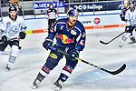 Yasin Ehliz in dem Spiel in der DEL, EHC Red Bull Muenchen (blau) - Nuernberg Ice Tigers (weiss).<br /> <br /> Foto &copy; PIX-Sportfotos *** Foto ist honorarpflichtig! *** Auf Anfrage in hoeherer Qualitaet/Aufloesung. Belegexemplar erbeten. Veroeffentlichung ausschliesslich fuer journalistisch-publizistische Zwecke. For editorial use only.