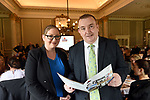 Pictured at an OCKT Chartered Accountants Budget Highlights Briefing in The Malton Hotel, Killarney on Wednesday were from left, Maria Cummins and Aidan Moynihan, Hotel Killarney.<br /> Photo: Don MacMonagle<br /> <br /> repro free photo